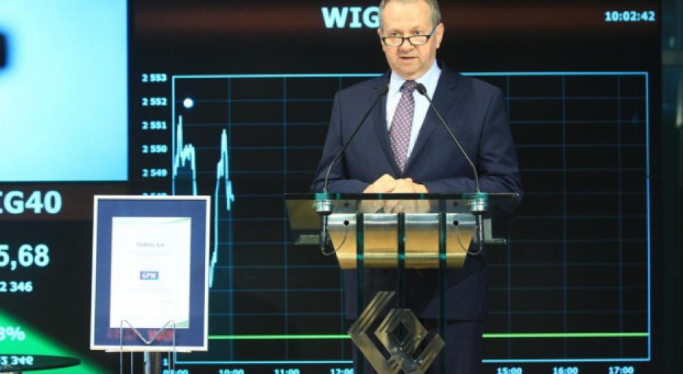 Tomasz Sweklej zrezygnował ze stanowiska prezesa Torpolu