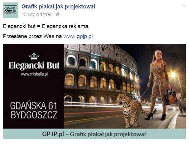 Przykładowy post z pangape'a GPJP. (Źródło: Facebook)