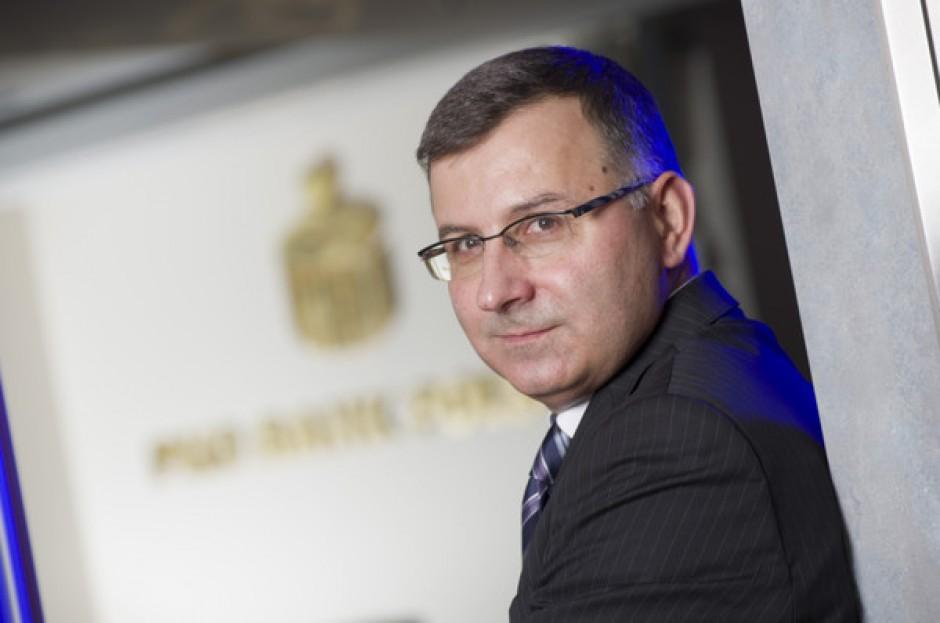 Zbigniew Jagiełło wciąż stoi na czele banku PKO. (fot. mat.pras.)