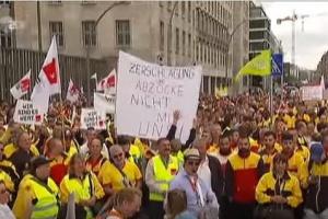 Niemcy w ciągu roku strajkowali przez 2 miliony dni