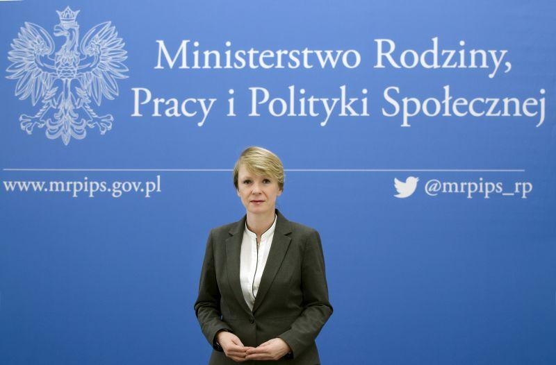 Renata Szczęch (fot. MRPiPS)