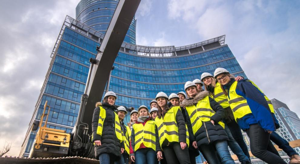 Kobiety na budowie: To one budują Warsaw Spire
