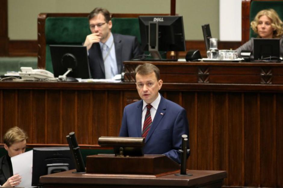 Mariusz Błaszczak, fot. MSWiA