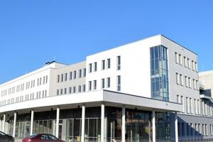 Strajk pracowników szpitala w Dąbrowie Górniczej