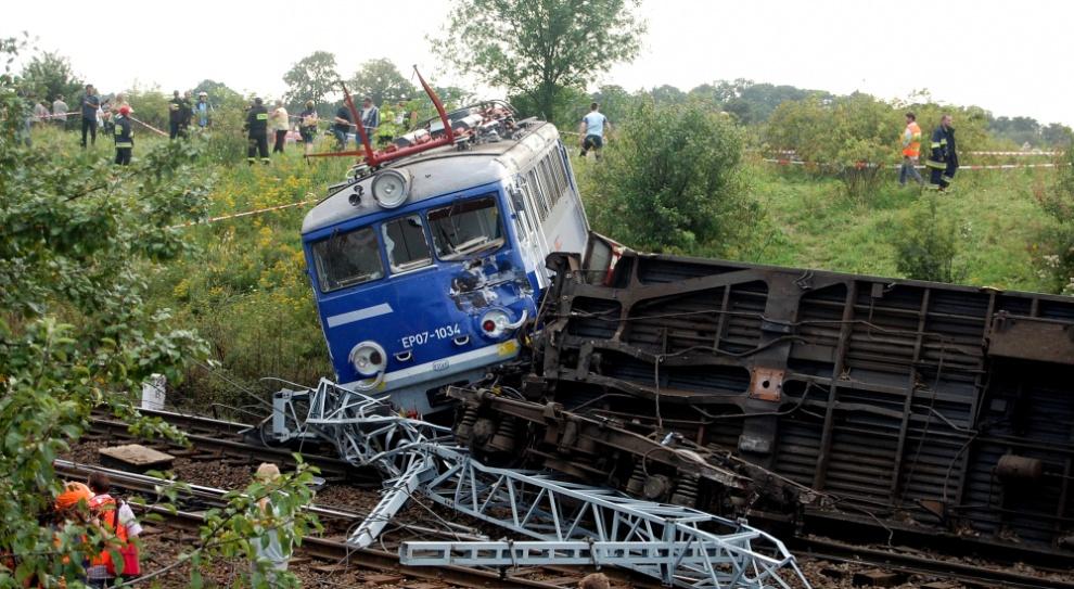 Związkowcy bronią maszynisty skazanego za wykolejenie pociągu