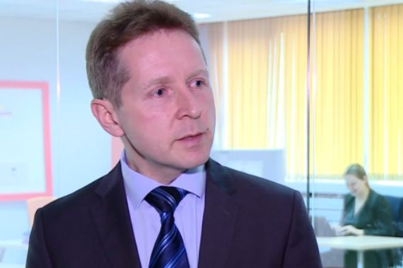 Marek Jurkiewicz, prezes portalu InfoPraca.pl (Fot. Newseria)