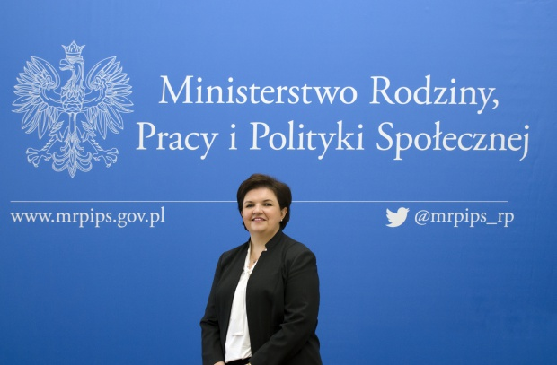 Elzbieta Bojanowska, wiceminister w resorcie rodziny, pracy i polityki społecznej.