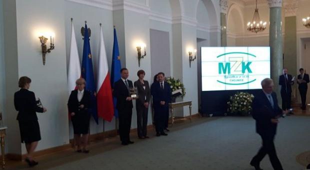"""Prezydent Duda wręczył certyfikaty """"Pracodawca Przyjazny Pracownikom"""""""