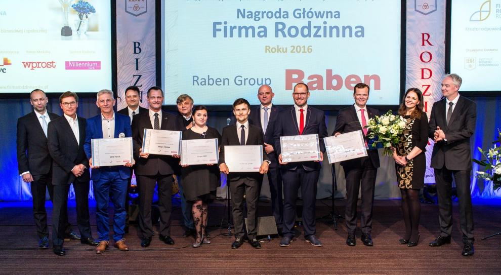 Firma Rodzinna Roku 2016, wyniki: Raben zwycięzcą. Kto dostał wyróżnienia?