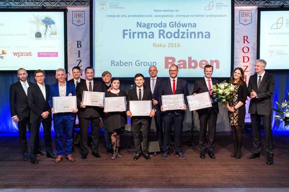 Laureaci Konkursu Firma Rodzinna Roku 2016 r. (fot.mat.pras.)