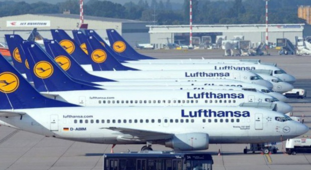 Lufthansa odwołuje połączenia z powodu strajku