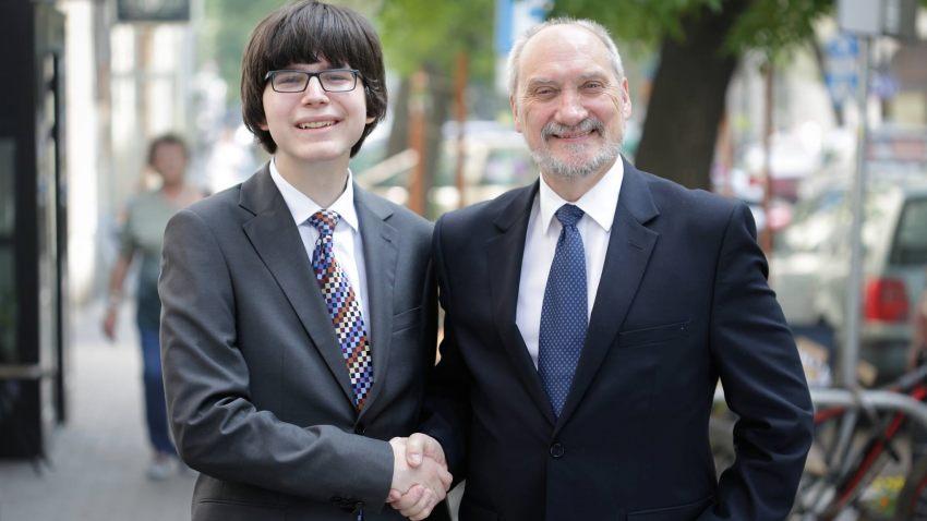 Edmund Janniger i Antoni Macierewicz (fot. janniger.pl)