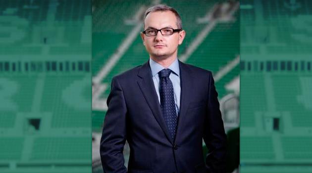 Robert Pietryszyn, p.o. prezesa Lotosu. (fot. Wrocław 2012).