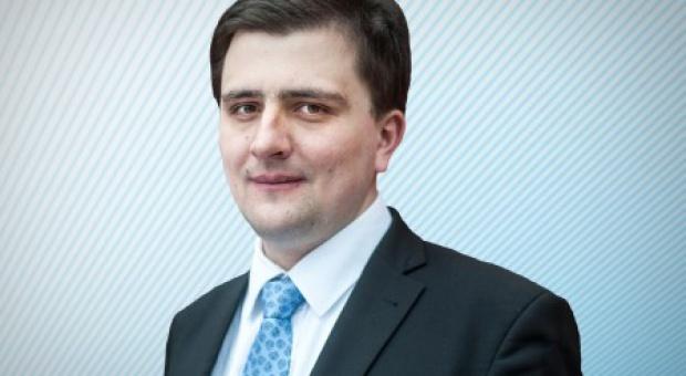 Michał Beim, członek zarządu PKP. (fot. Instytut Sobieskiego)