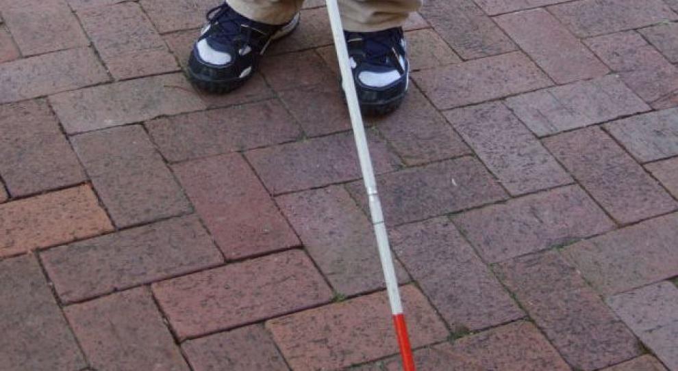 Strażnicy miejscy szkolą niewidomych