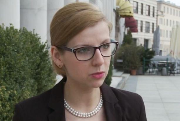 Justyna Pokojska z Laboratorium Gospodarki Cyfrowej DELab Uniwersytetu Warszawskiego (Fot. Newseria)