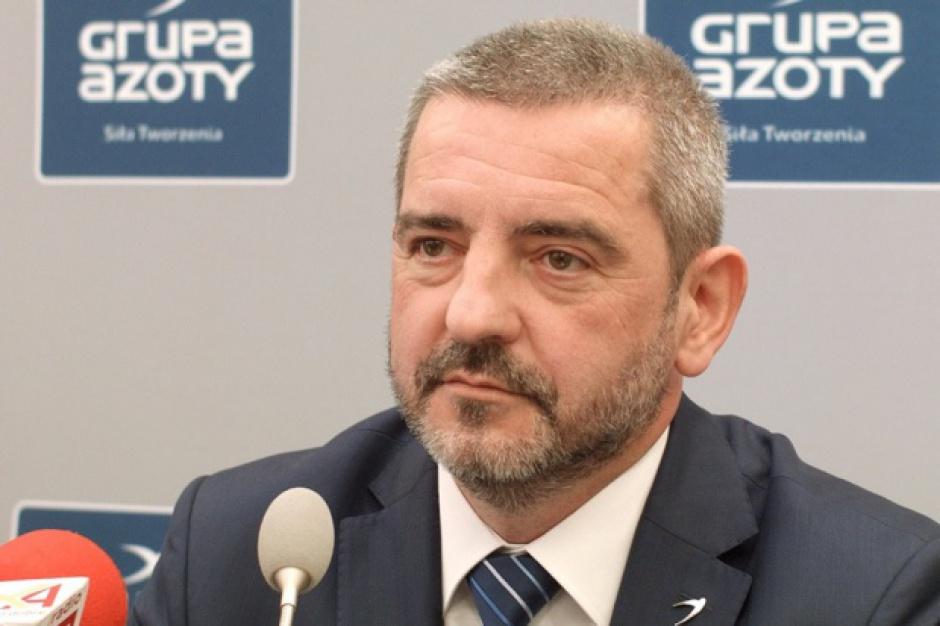 Mariusz Bober, szef grupy Azoty prawdopodobnie pokieruje również spółką ZA Puławy. (fot. PTWP)