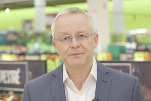 David Morris, prezes Tesco w regionie Europy Centralnej. Z pochodzenia Brytyjczyk. (fot. youtube)