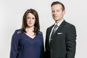 Maciej Michalewski i Julia Włosowicz z agencji Lobo