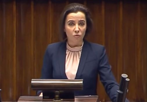 Prezydencka minister Anna Surówka-Pasek (Fot. Youtube)