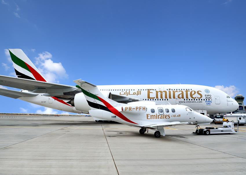 Obecnie dla linii Emirates w charakterze członków załogi pokładowej pracuje już ponad 650 Polaków (fot.facebook.com/Emirates)