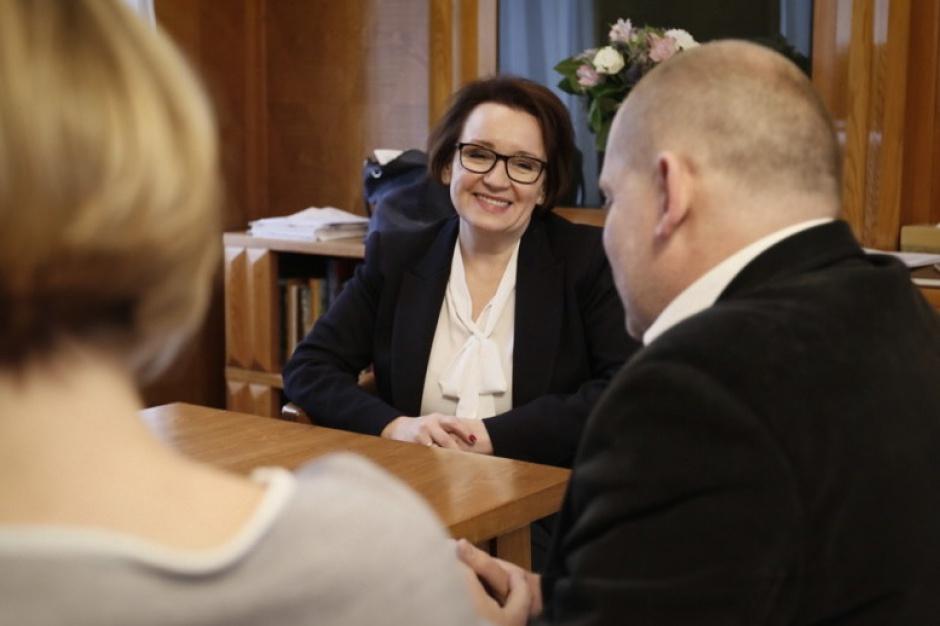 Anna Zalewska, minister edukacji narodowej. (men.gov.pl)