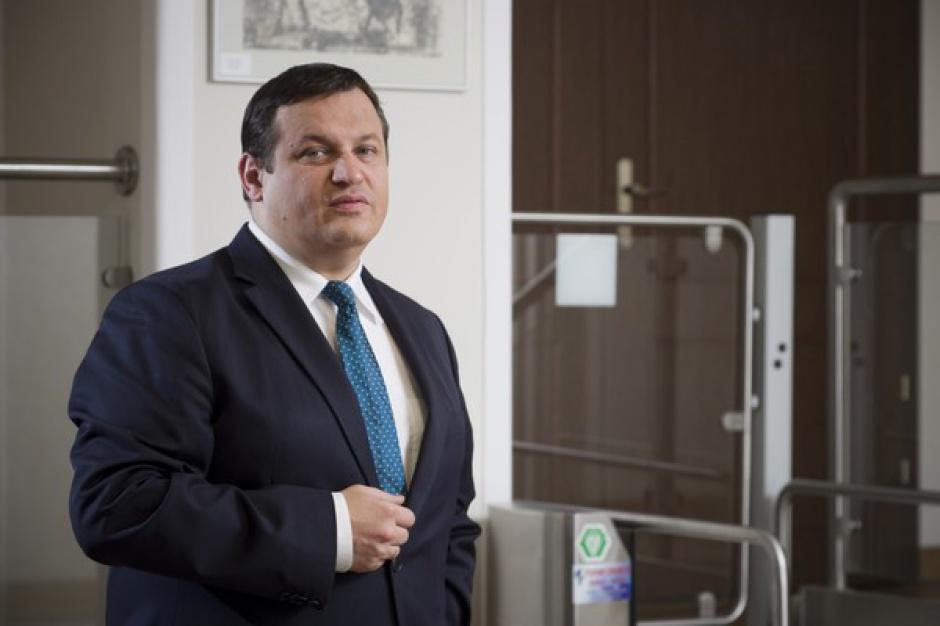 Jacek Męcina, przewodniczący Rady Dialogu Społecznego. (fot. PTWP)