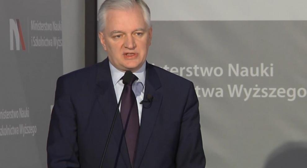 Jarosław Gowin chce odbiurokratyzować uczelnie