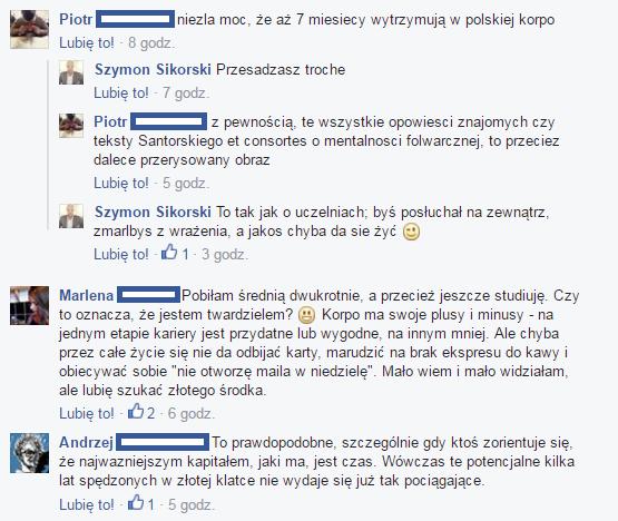 Źródł: Komentarze pod postem na Facebooku