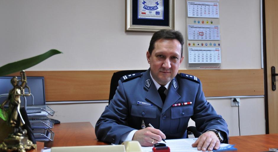 Warszawa, policja: Robert Żebrowski nowym komendantem stołecznym policji