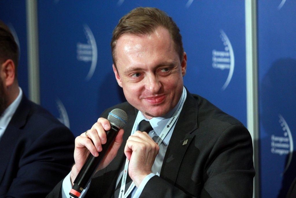 Paweł Jaroszek, członek zarządu ds. finansów i realizacji dochodów w Zakładzie Ubezpieczeń Społecznych. Fot. PTWP