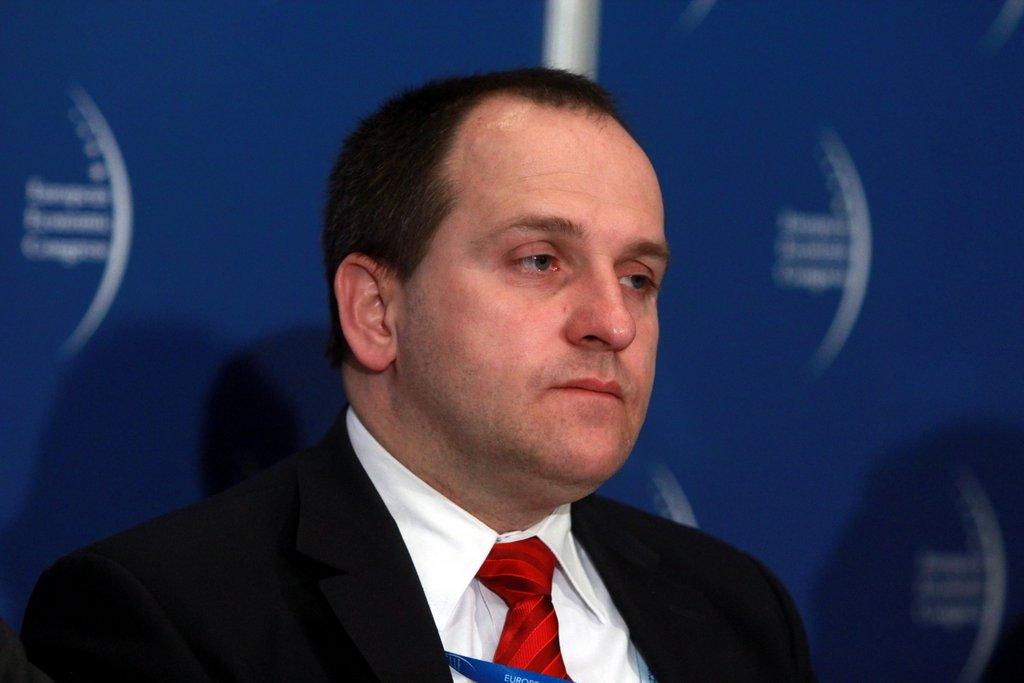 Stanisław Kluza, pełniący obowiązki prezes BOŚ, były minister finansów. Fot. PTWP