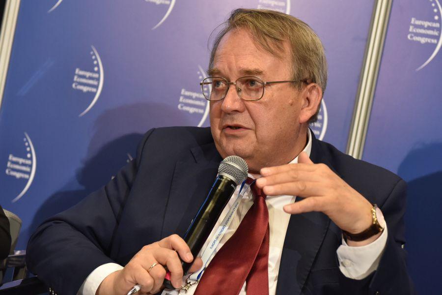 Leszek Żabiński, rektor Uniwersytetu Ekonomicznego w Katowicach (Fot.: PTWP)