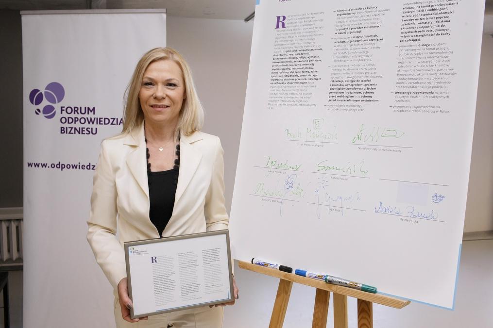 Karta Różnorodności jest międzynarodową inicjatywą promowaną przez Komisję Europejską (fot.mat.pras.)