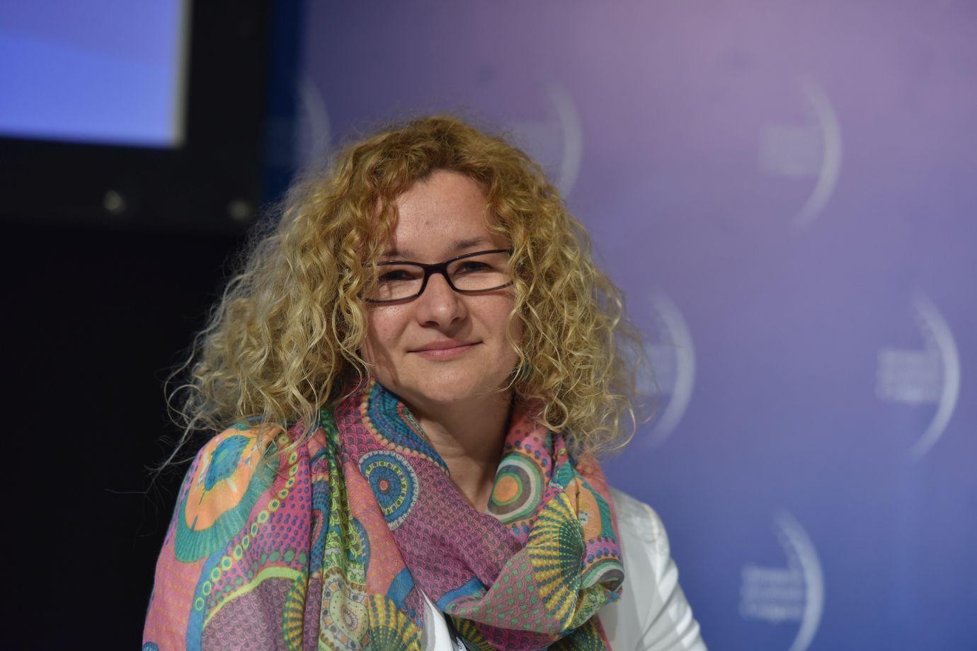 Jolanta Czernicka-Siwecka, prezes fundacji Iskierka (Fot.: PTWP)