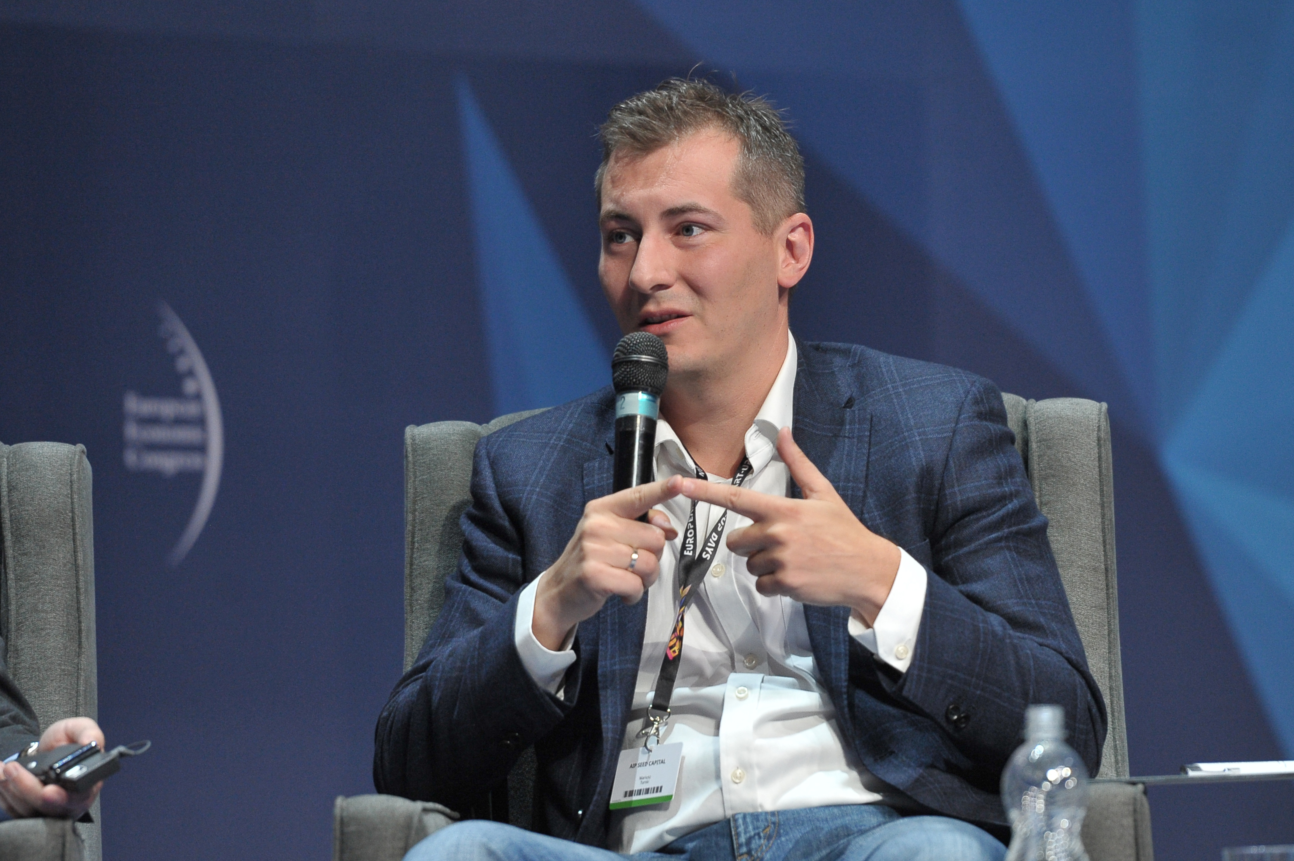 Mariusz Turski, prezes AIP Seed Capital (Fot. PTWP)