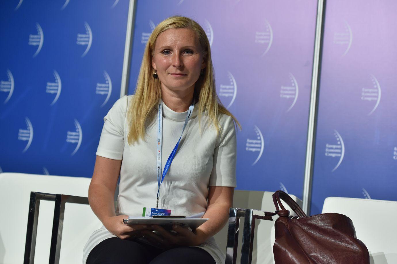 Irena Pichola, partner Deloitte w zespole ds. zrównoważonego rozwoju w Europie Centralnej (Fot.: PTWP)