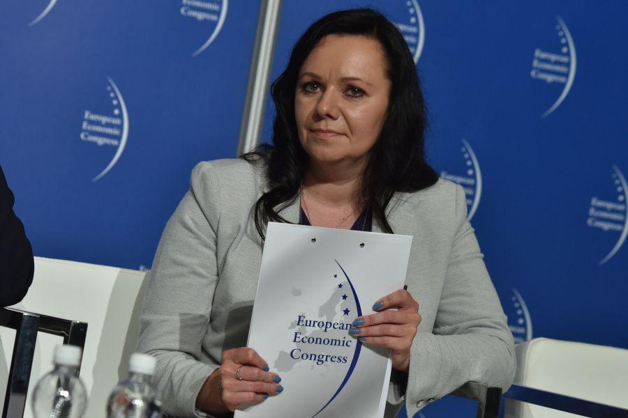 Jowita Twardowska, dyrektor ds. komunikacji i CSR w Lotos (Fot.: PTWP)