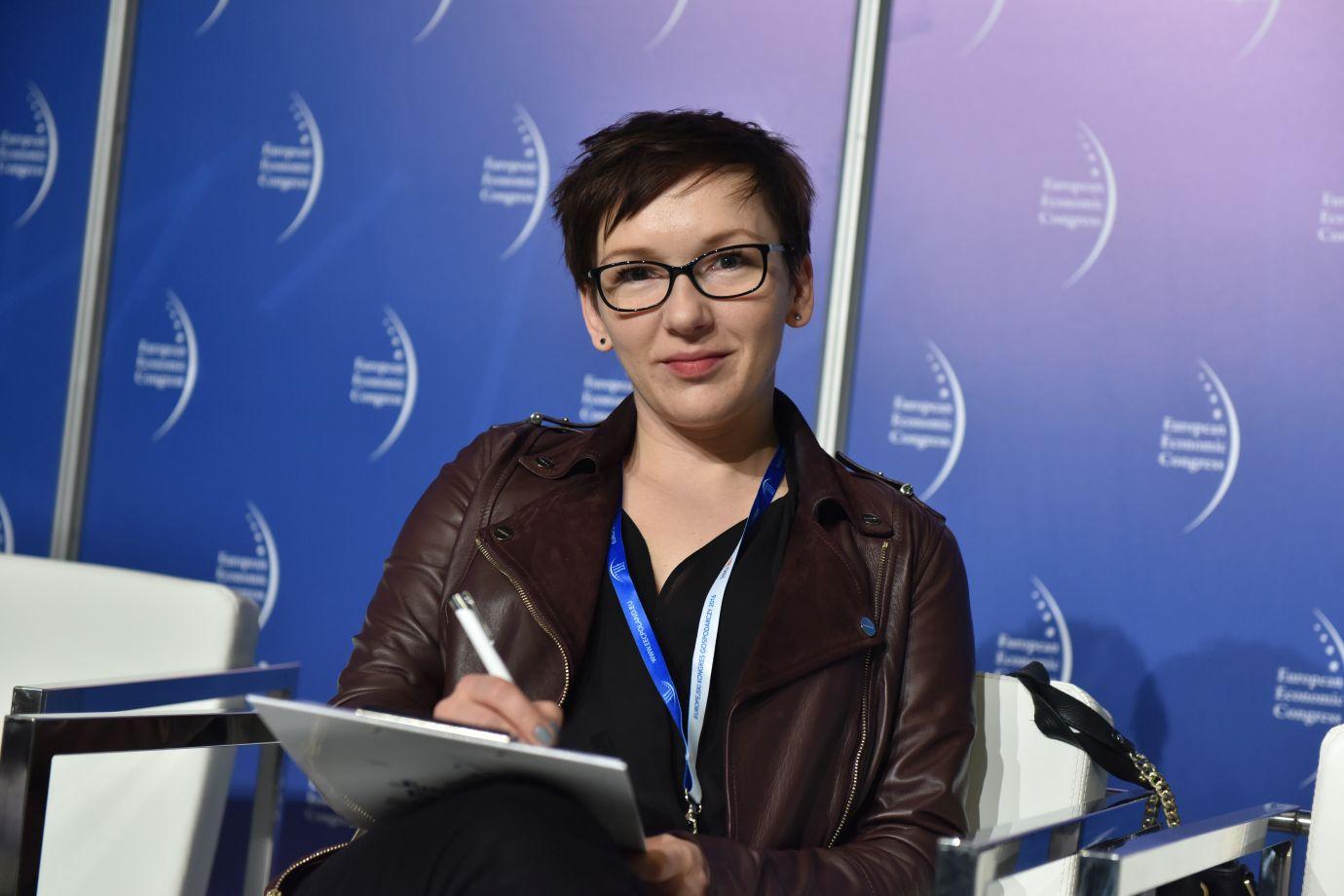 Anna Mieleszko dyrektor fundacji im. Lesława A. Pagi (Fot.: PTWP)