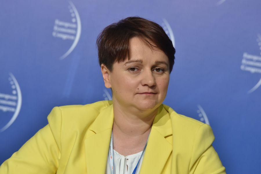 Mirella Panek-Owsiańska, prezes Fundacji Odpowiedzialnego Biznesu (Fot.: PTWP)