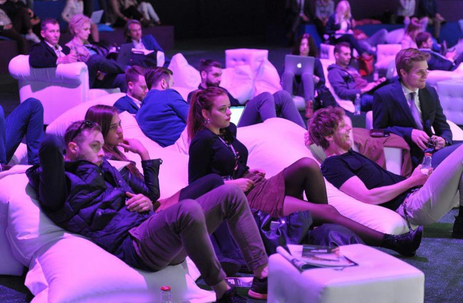 Dyskusji podczas European Start-Up Days w Katowicach przysłuchiwało się wiele osób. (fot. PTWP)