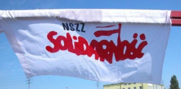 Związkowcy z NSZZ Solidarność będą pikietować pod lędzińskim magistratem. (fot. mat.pras.)