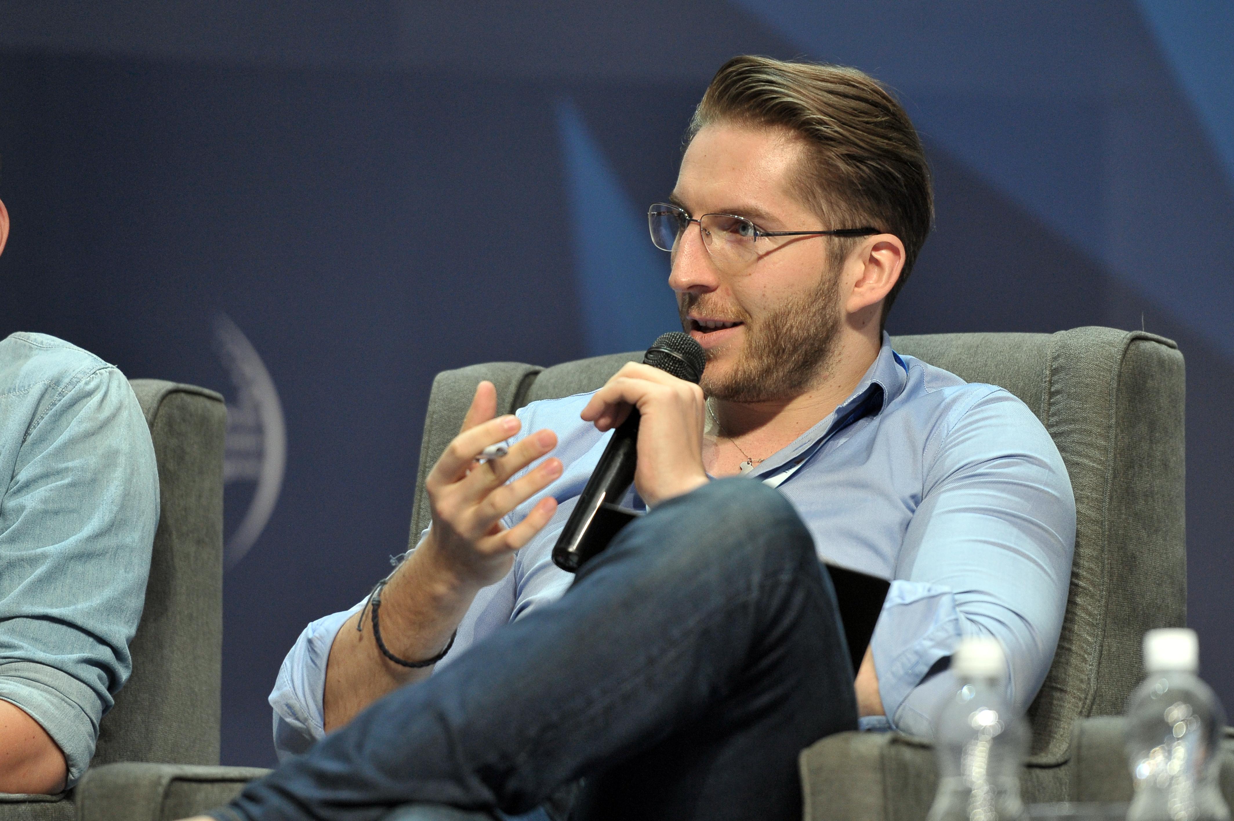 Marek Zmysłowski, CEO i założyciel HotelOga (Fot. PTWP)