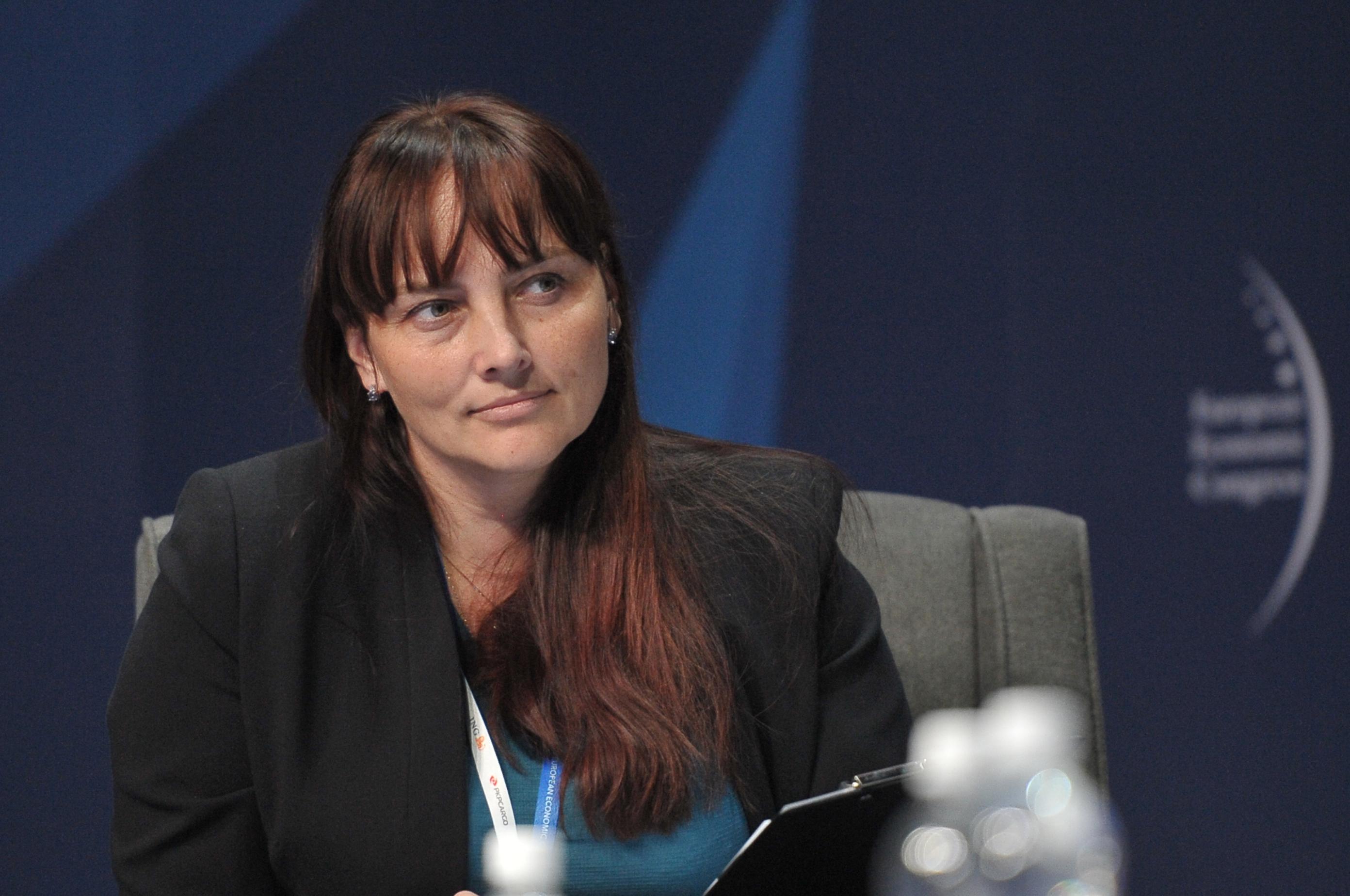 Iwona Woicka-Żuławska, zastępca dyrektora departamentu współpracy ekonomicznej, Ministerstwo Spraw Zagranicznych (Fot. PTWP)