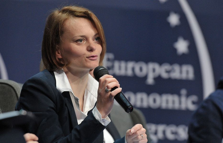 Jadwiga Emilewicz, podsekretarz stanu w Ministerstwie Rozwoju. (fot. PTWP)