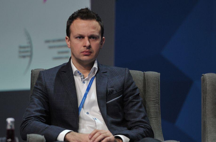 Jacek Aleksandrowicz, prezes Akademickich Inkubatorów Przedsiębiorczości. (fot. PTWP)