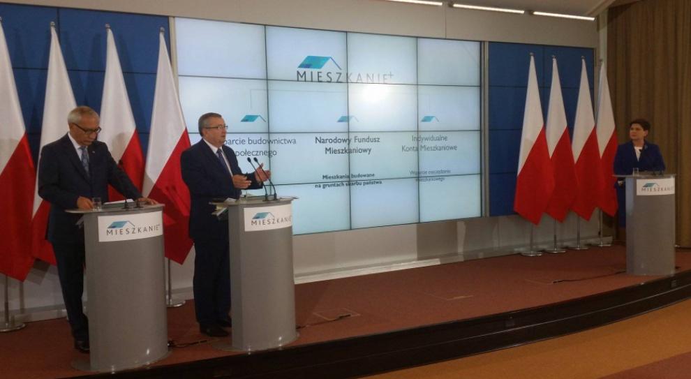 Mieszkanie Plus, Szydło, PiS: Szansa na własne M dla słabiej zarabiających Polaków