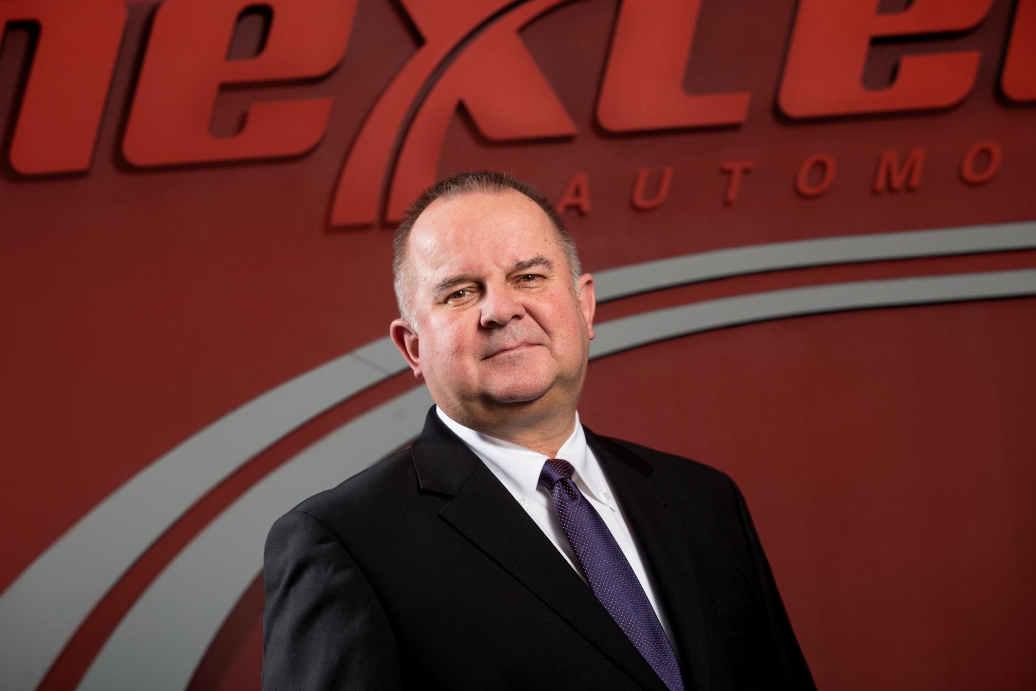 Robert Gałązka, prezes i dyrektor generalny Nexteer Automotive. (fot. mat.pras.)