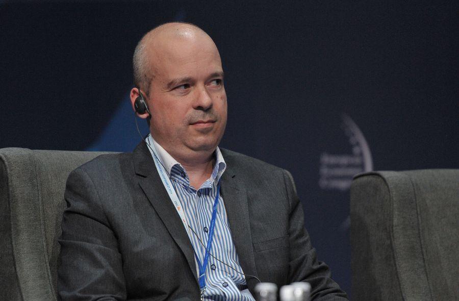 Péter Szlávik, współwłaściciel węgierskiego start-upu Simteam. (fot. PTWP)