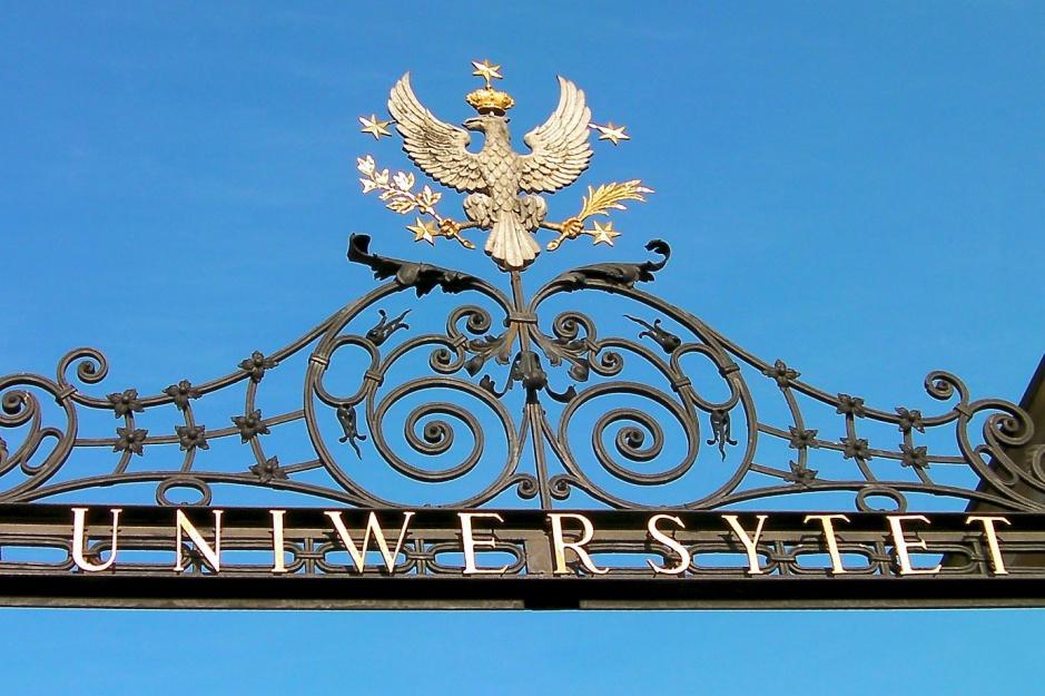 Najlepsze uczelnie wyższe w Polsce: Uniwersytet Warszawski, Uniwersytet Jagielloński i Uniwersytet A. Mickiewicza na podium